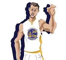 Golden State Stephen Curry Photographic Print