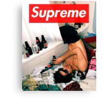 Supreme Drunk Canvas Print