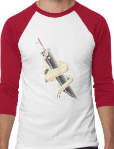 Embrace your Dreams (Final Fantasy VII) Men's Baseball ¾ T-Shirt