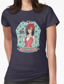 Kairi's Paopu Cupcakes (Kingdom Hearts) Womens Fitted T-Shirt