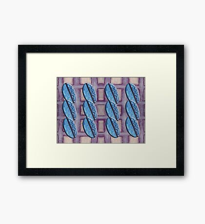 ABSTRACT 737 Framed Print