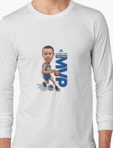 Stephen Curry MVP Long Sleeve T-Shirt