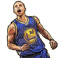 Stephen Curry5  Photographic Print