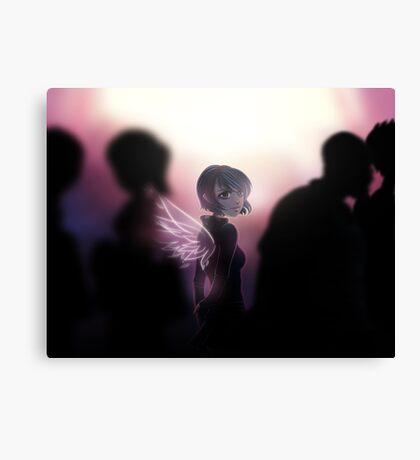ANNA BLUE - ANGEL Canvas Print