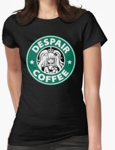Despair Coffee (Danganronpa) Womens Fitted T-Shirt
