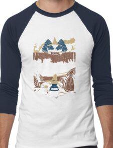 Attack on Waltz - Shingeki no Waltz (Final Fantasy IX) Men's Baseball ¾ T-Shirt