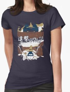 Attack on Waltz - Shingeki no Waltz (Final Fantasy IX) Womens Fitted T-Shirt