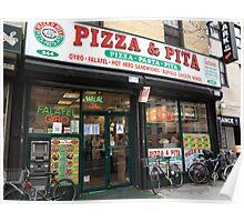 New York City Pizza Poster