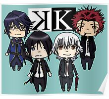 K project chibi Poster