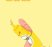 Love is... wurstel and mustard by ciaca