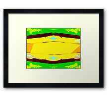 ABSTRACT 233 Framed Print