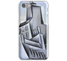 Juan Gris, Jose Victoriano, (Carmelo Carlos) , HOUSES IN PARIS iPhone Case/Skin
