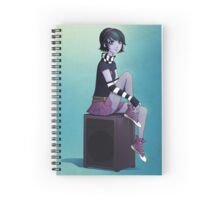 ANNA BLUE - AMPLIFYING Spiral Notebook