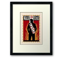 Walk in Time (Back to the Future) Framed Print