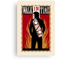 Walk in Time (Back to the Future) Canvas Print