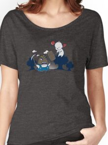 Data Storage Battle (Animal Crossing) Women's Relaxed Fit T-Shirt