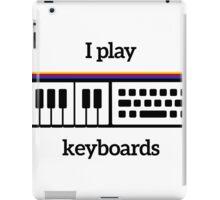 I play keyboards iPad Case/Skin