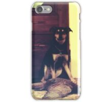 Chevy's First (and last) Pheasant  iPhone Case/Skin