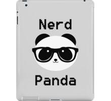 Nerd Panda iPad Case/Skin