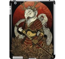 Dragon Samurai - Colour iPad Case/Skin
