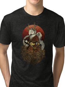 Dragon Samurai - Colour Tri-blend T-Shirt