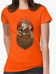 Dragon Samurai - Colour Womens Fitted T-Shirt
