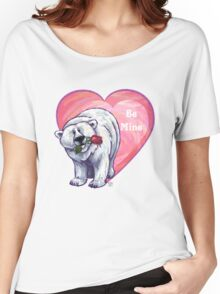 Polar Bear Valentine's Day Women's Relaxed Fit T-Shirt