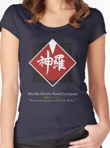 Shin-Ra Company (Final Fantasy VII) Women's Fitted Scoop T-Shirt