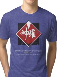 Shin-Ra Company (Final Fantasy VII) Tri-blend T-Shirt