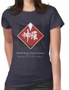 Shin-Ra Company (Final Fantasy VII) Womens Fitted T-Shirt