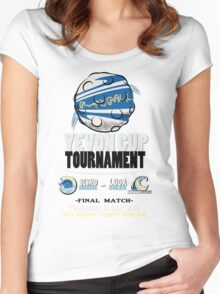 Blitzball Tournament! (Final Fantasy X) Women's Fitted Scoop T-Shirt