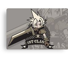 1ST CLASS SOLDIER alt. ver. (Final Fantasy VII) Canvas Print