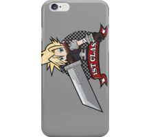 1ST CLASS SOLDIER (Final Fantasy VII) iPhone Case/Skin