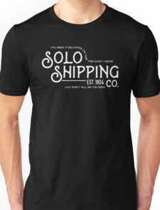 Solo Shipping Co. Unisex T-Shirt
