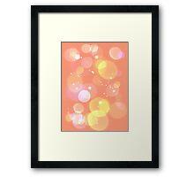 Orange Sherbert Framed Print