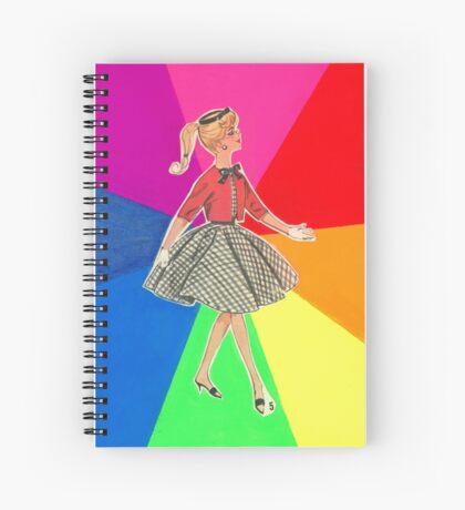Rainbow Girl Spiral Notebook