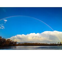 Rainbow Lake Photographic Print