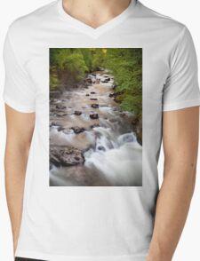 Welsh Rapids Mens V-Neck T-Shirt