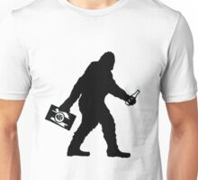 SASQUATCH BIGFOOT With A Case Of BEER  Unisex T-Shirt