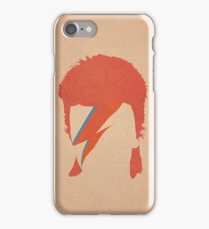 David Bowie / Ziggy Stardust iPhone Case/Skin
