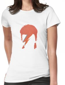 David Bowie / Ziggy Stardust Womens Fitted T-Shirt
