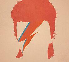 David Bowie / Ziggy Stardust by MartaOlgaKlara