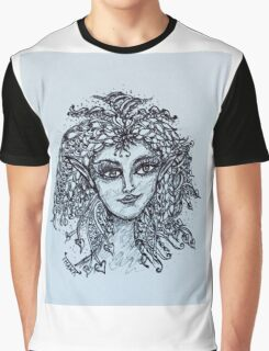 Zentangle Fairy  Graphic T-Shirt