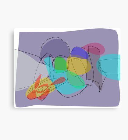 Gray Philosophy Canvas Print