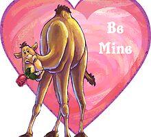 Camel Valentine's Day by ImagineThatNYC