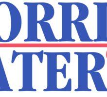Morris And Slater For President Sticker