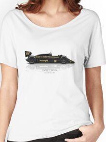 Ayrton Senna - Lotus 98T Women's Relaxed Fit T-Shirt