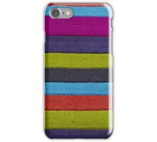 Woolly stripes iPhone Case/Skin