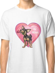 Chihuahua Valentine's Day Classic T-Shirt