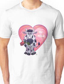 Cow Valentine's Day Unisex T-Shirt